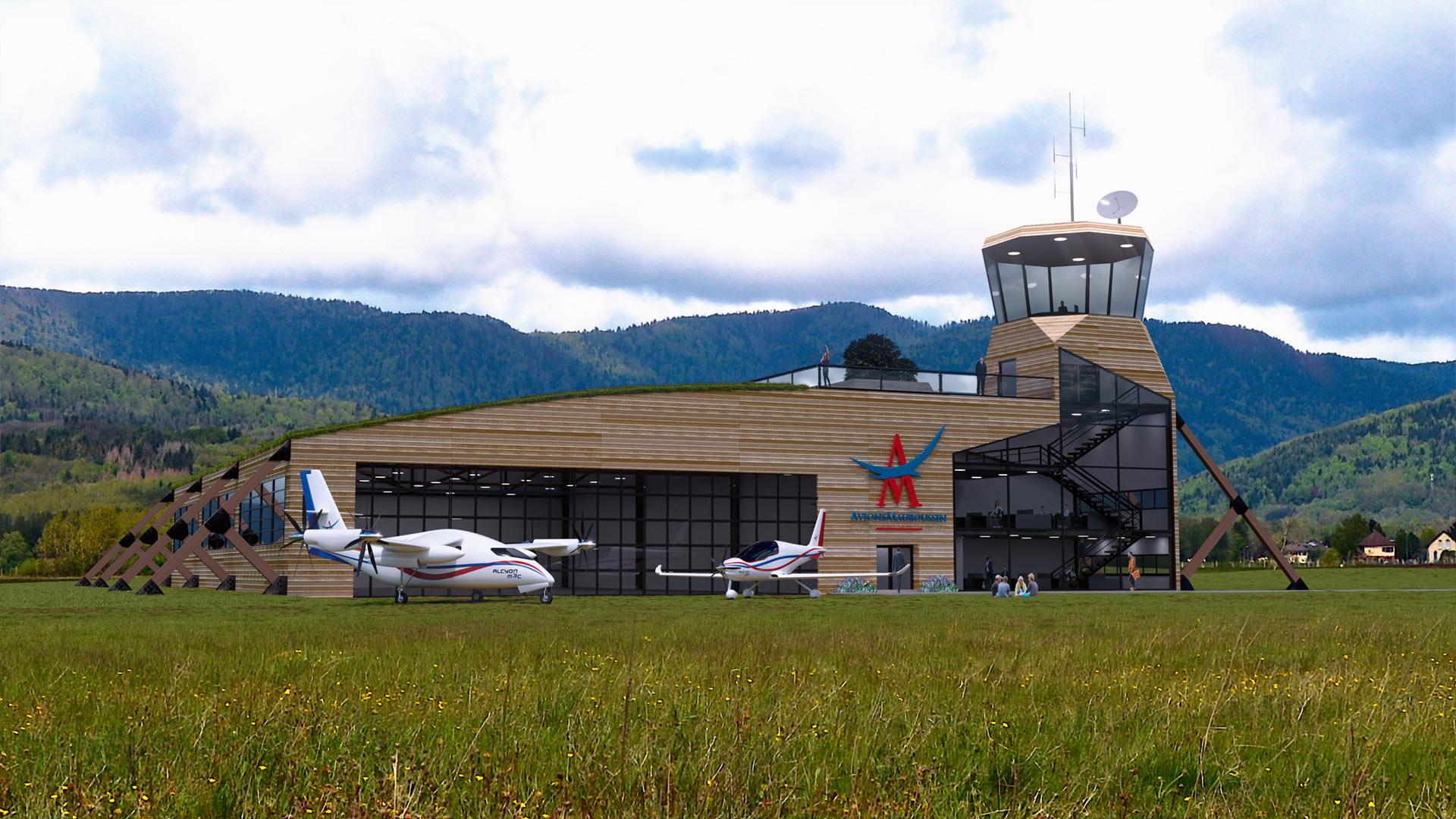 AVIONS MAUBOUSSIN Avions à propulsion hybride et hydrogène, à atterrissages et décollages courts répondant aux exigences de la mobilité moderne