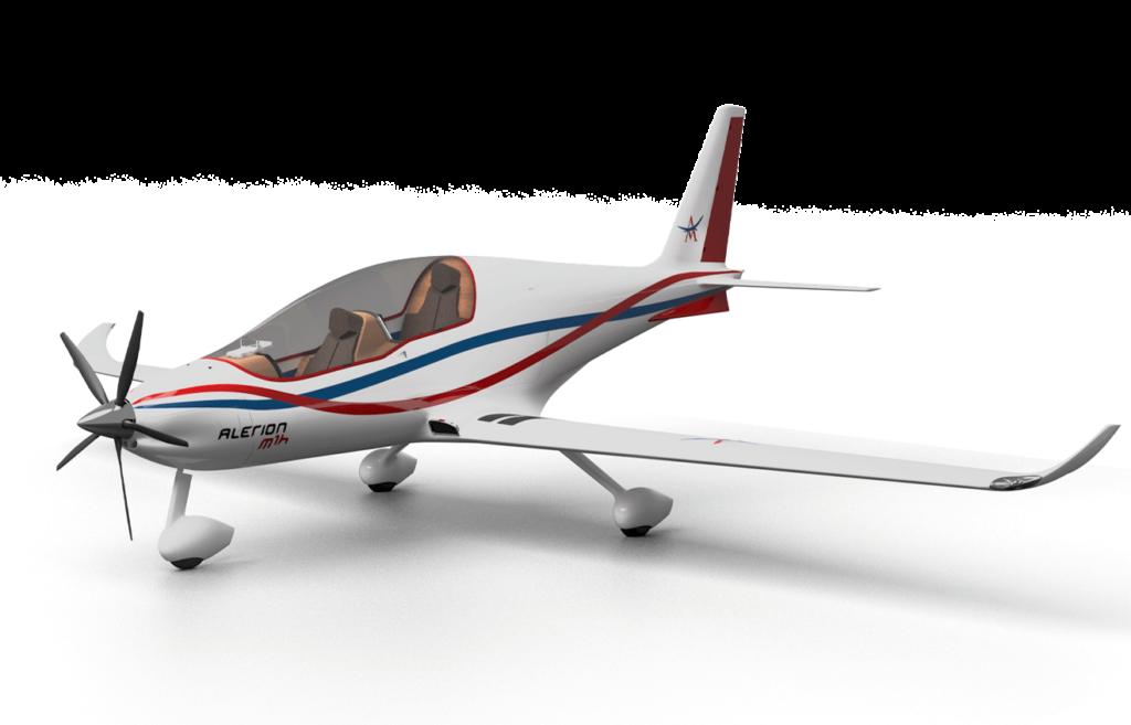Konzept Hybrid- und wasserstoffgetriebene Flugzeuge, mit kurzen Starts und Landungen den Anforderungen der modernen Mobilität gerecht werden